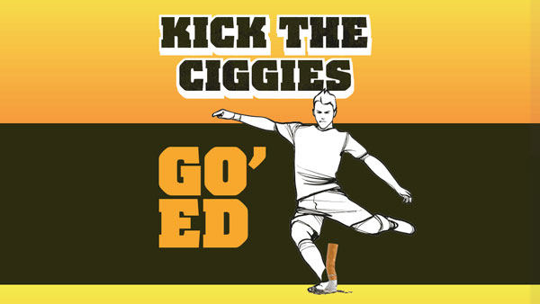 Kick the ciggies