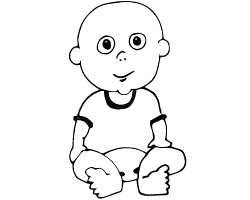 Baby sat down